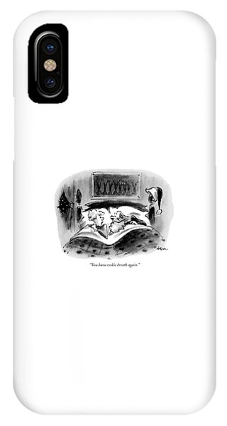 You Have Cookie Breath Again IPhone Case