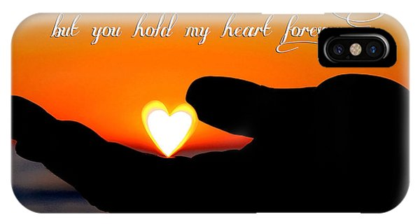 You Hold My Heart Forever By Diana Sainz IPhone Case
