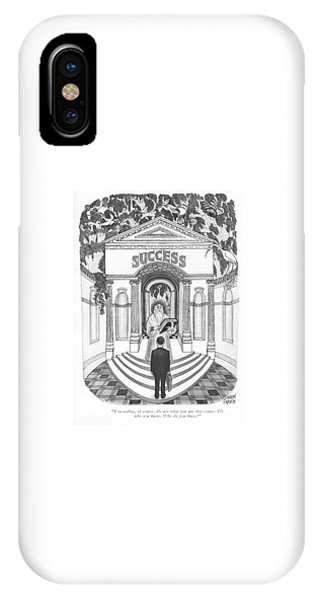Fairness iPhone Case - You Realize by Joseph Farris