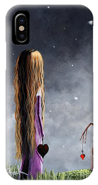 Blond iPhone Case - You Will Always Be Remembered by Erback Art