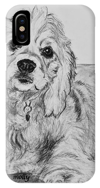 Young Cocker Spaniel IPhone Case