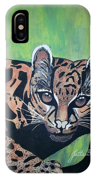 Young In Wild IPhone Case