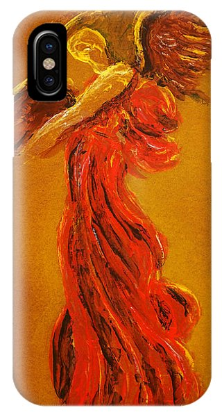 Your Angel Is Waiting IPhone Case