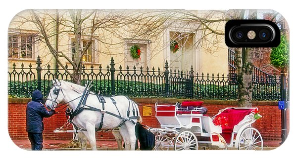 Your Carriage Awaits IPhone Case