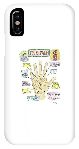 All In The Family iPhone Case - Your Palm by Roz Chast