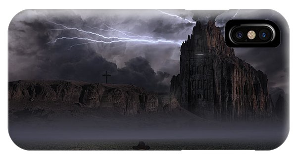Desolation iPhone Case - Your Thoughts Run Deeper by Keith Kapple