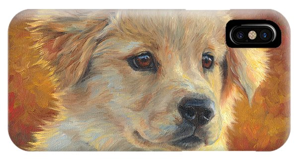 Retriever iPhone Case - Youth by Lucie Bilodeau