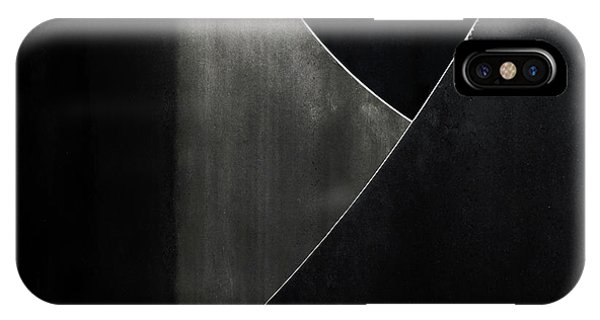 Metal iPhone Case - Ypsylon by Gilbert Claes