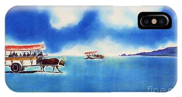 Yubu Island-water Buffalo Taxi  IPhone Case