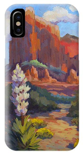 Yucca At Sedona IPhone Case