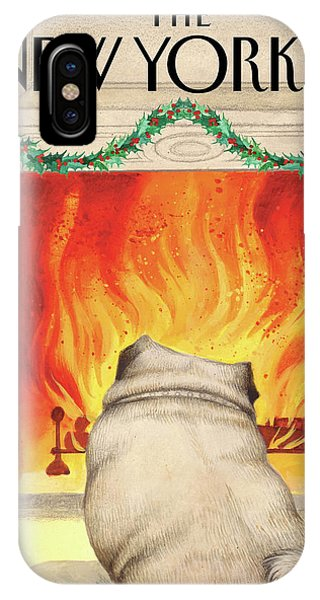 Yule Dog IPhone Case