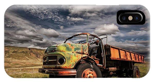 Truck iPhone X Case - Z 466 by ?orsteinn H. Ingibergsson