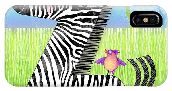 Z Is For Zebra IPhone Case