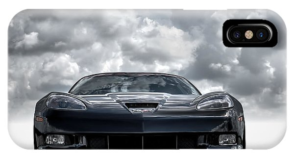 Chevrolet iPhone Case - Z06 by Douglas Pittman