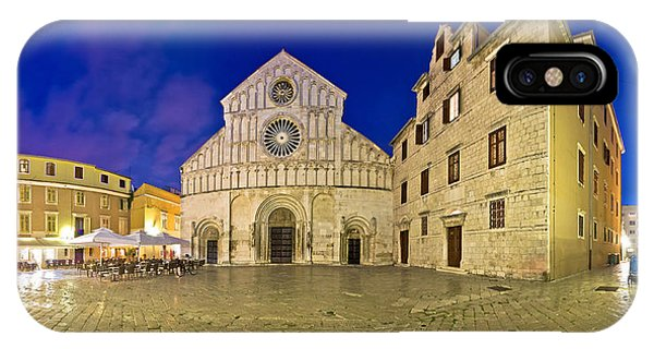 Zadar Cathedral Square Night View IPhone Case