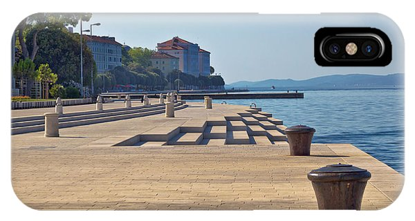 Zadar Waterfront Famous Sea Organs Landmark IPhone Case