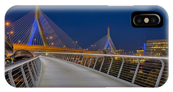 Zakim Bridge iPhone Case - Zakim Bridge by Susan Candelario