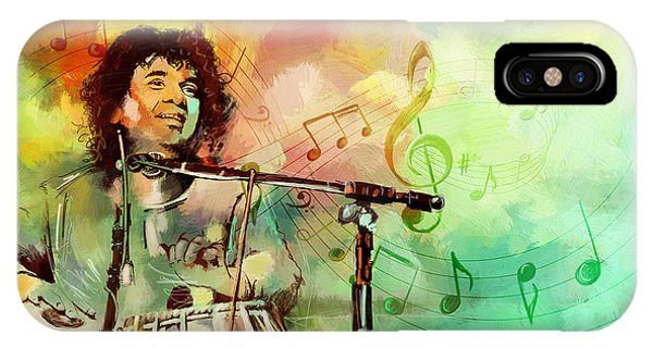 Zakir Hussain IPhone Case