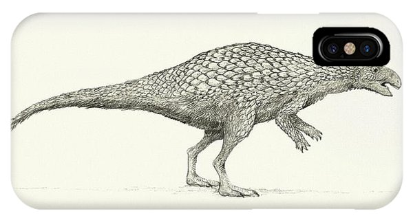 Zalmoxes Dinosaur Phone Case by Nemo Ramjet