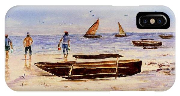 Zanzibar Forzani Beach IPhone Case