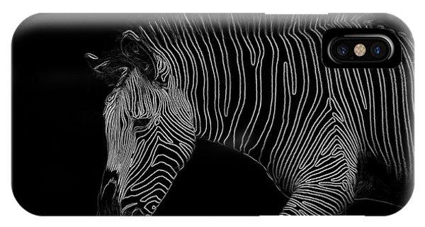Zebra Art IPhone Case