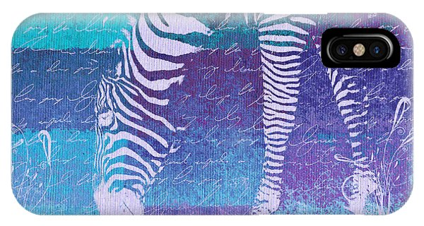 Zebra iPhone Case - Zebra Art - Bp02t01 by Variance Collections
