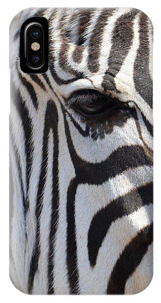 Zebra Eye Abstract IPhone Case