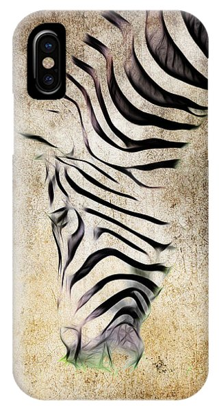 Zebra Fade IPhone Case