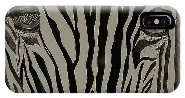 Zebra Lines IPhone Case
