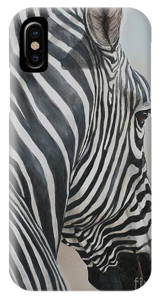 Zebra Look IPhone Case