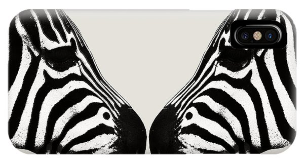 Zebra Love IPhone Case