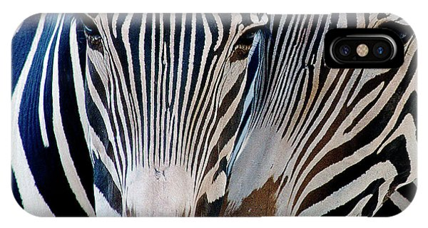 Zebra Pattern IPhone Case