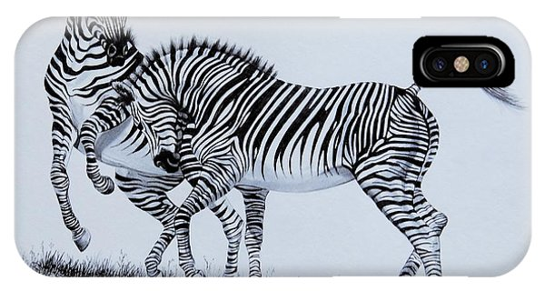 Zebra Play IPhone Case