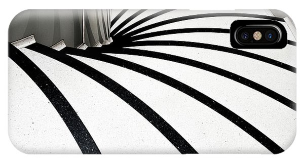 Staircase iPhone Case - Zebra Steps by Linda Wride