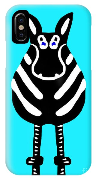 Zebra - The Front View IPhone Case