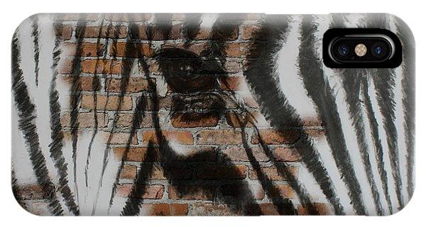 Zebra Wall IPhone Case