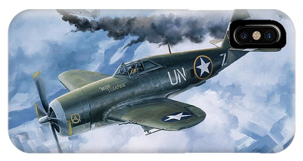Wwi iPhone Case - Zemke's Thunder by Randy Green