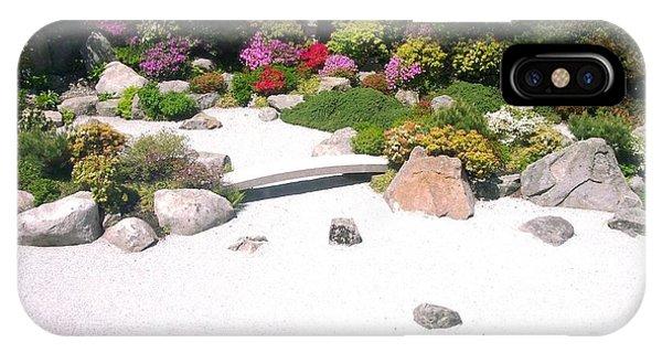 Zen Garden Phone Case by Pamela Schreckengost