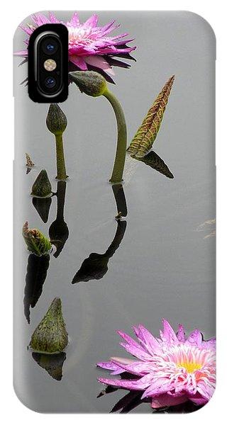 Zen Lilies IPhone Case