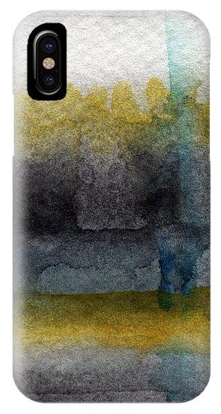 Grey Skies iPhone Case - Zen Moment by Linda Woods