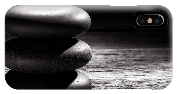 Well Being iPhone Case - Zen by Olivier Le Queinec