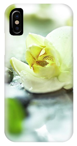 Orchid iPhone X Case - Zen Orchid by #name?