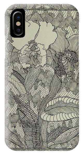 Zen Orchids IPhone Case