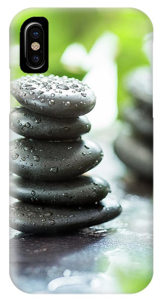 Wet iPhone Case - Zen Pebbles by #name?