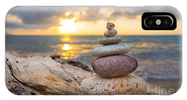 Zen Stones IPhone Case