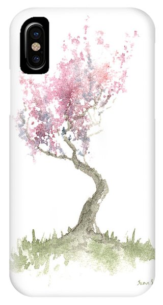 Zen Tree In Spring IPhone Case