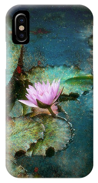 Zen Water Lily IPhone Case