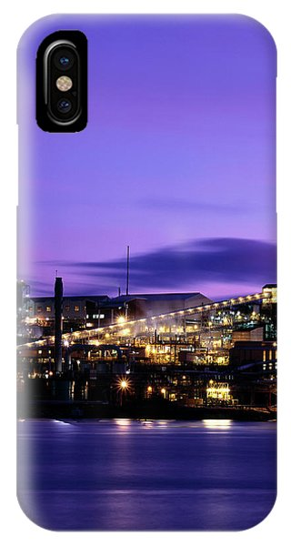 Technological iPhone Case - Zinc Smelter by Alex Bartel/science Photo Library
