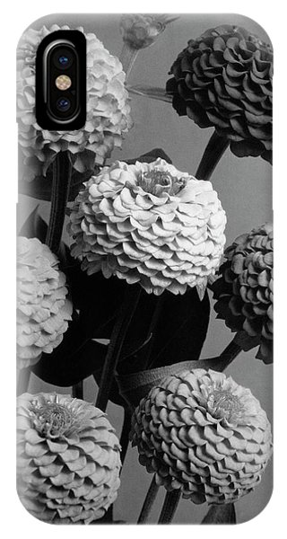 Zinnia Lilliput Flowers IPhone Case