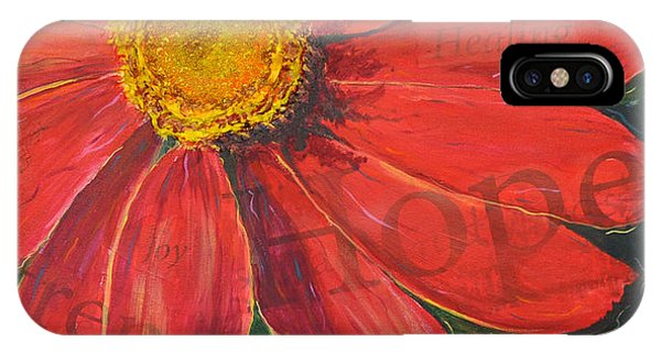 Zinnia Of Hope IPhone Case